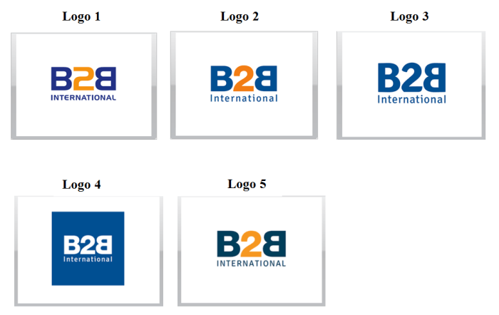 B2B International Logo Design Ideas